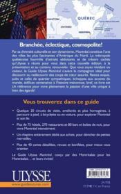 Montreal (10e Edition - Couverture - Format classique