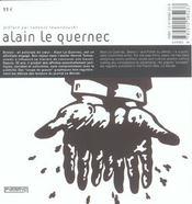 Alain Le Quernec - 4ème de couverture - Format classique