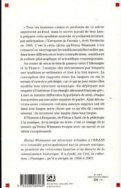 Penser entre les langues - 4ème de couverture - Format classique