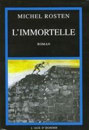 L'immortelle - Couverture - Format classique