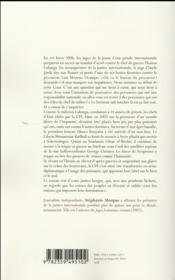 Le joker des puissants ; le grand roman de la Cour pénale internationale - 4ème de couverture - Format classique