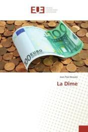La dime - Couverture - Format classique