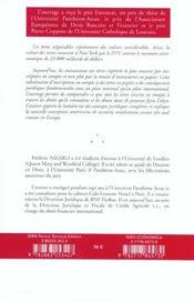 Les Titres Negociables - 4ème de couverture - Format classique