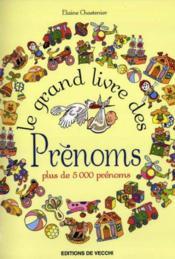Grand Livre Des Prenoms (Le) - Couverture - Format classique