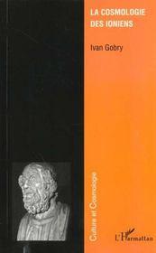La Cosmologie Des Ioniens - Intérieur - Format classique