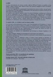 Riss N.186 ; Riss T.186 ; Le Vih/Sida Vu Par Les Sciences - 4ème de couverture - Format classique