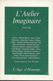 Atelier Imaginaire - Couverture - Format classique