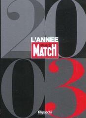 L'Annee Match 2003 - Intérieur - Format classique