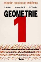 Exercices mathematiques geometrie t.1 - Couverture - Format classique