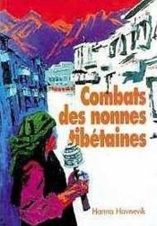 Combats des nonnes tibetaines - Couverture - Format classique