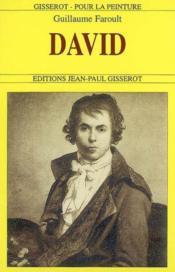 David - Couverture - Format classique