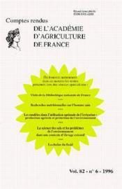 Visite de la bibliotheque nationale de france ; comptes rendus de l'aaf t.82 - Couverture - Format classique