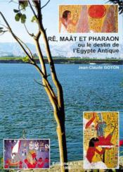 Re. maat et pharaon ou destin egypte - Couverture - Format classique
