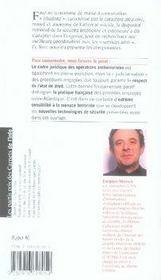 Les carnets de l'info t.6 ; antiterrorisme : la méthode française - 4ème de couverture - Format classique