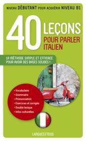 telecharger 40 lecons pour parler italien livre PDF/ePUB en ligne gratuit
