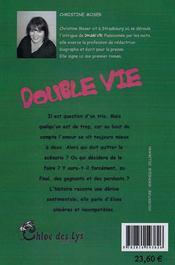 Double vie - Couverture - Format classique