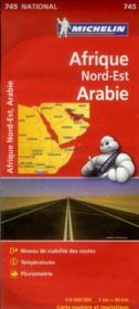 Afrique Nord-Est ; Arabie - Couverture - Format classique
