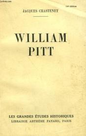 William Pitt. - Couverture - Format classique