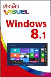 Poche visuel windows 8.1 - Couverture - Format classique