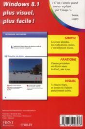 Poche visuel windows 8.1 - 4ème de couverture - Format classique