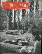 PHOTO CINEMA - 32e ANNEE - N°607 - Couverture - Format classique