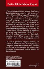 Art et psychanalyse - 4ème de couverture - Format classique