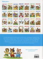 Mini-Loup et la galette des rois - 4ème de couverture - Format classique
