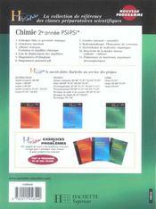 Psi*, psi - 4ème de couverture - Format classique