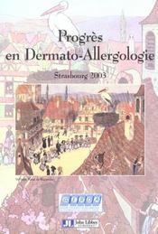 Progres En Dermato-Allergologie - Intérieur - Format classique