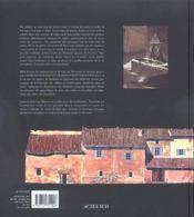 Maisons Rurales Et Vie Paysanne En Provence. - 4ème de couverture - Format classique