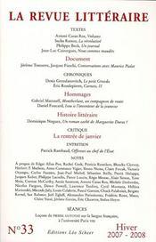 La Revue Litteraire N.33 - Intérieur - Format classique