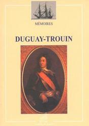 Memoires duguay-trouin - Intérieur - Format classique