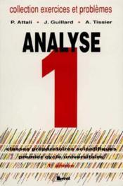 Exercices mathematiques analyses t.1 - Couverture - Format classique