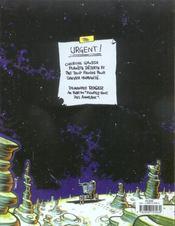 Cosmik Roger t.1 - 4ème de couverture - Format classique