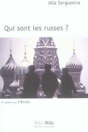 Qui sont les Russes ? - Intérieur - Format classique