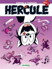 Hercule t.4 ; les nouvelles aventures - Couverture - Format classique