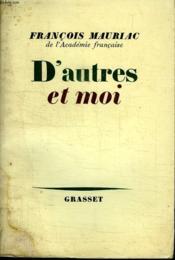 D Autres Et Moi. - Couverture - Format classique