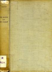 De Sang Et De Chair - Couverture - Format classique