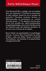 Les fantômes familiaux ; psychanalyse transgénérationnelle - Couverture - Format classique