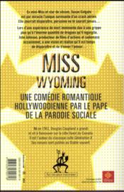 Miss Wyoming - 4ème de couverture - Format classique