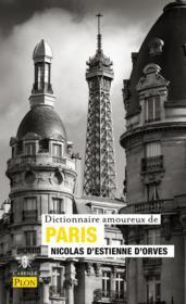 Dictionnaire amoureux de Paris - Couverture - Format classique