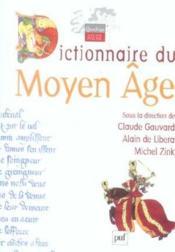 Dictionnaire du Moyen-âge - Couverture - Format classique