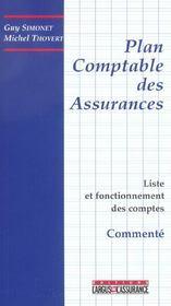Le plan comptable des assurances (2e édition) - Intérieur - Format classique