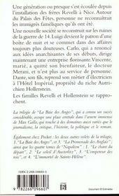 Baie Des Anges T.2 Le Palais Des Fetes - 4ème de couverture - Format classique