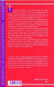 Marches des capitaux et theorie financiere ; 3e edition - 4ème de couverture - Format classique