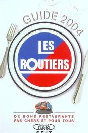 Guide 2004. de bons restaurants pas chers et pour tous - Intérieur - Format classique