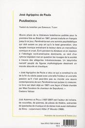 Panamérica - 4ème de couverture - Format classique