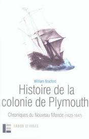 Histoire de la colonie de plymouth - Intérieur - Format classique