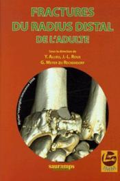 Fractures du radius distal de l'adulte - Couverture - Format classique