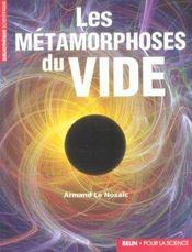 Les Metamorphoses Du Vide. - Intérieur - Format classique